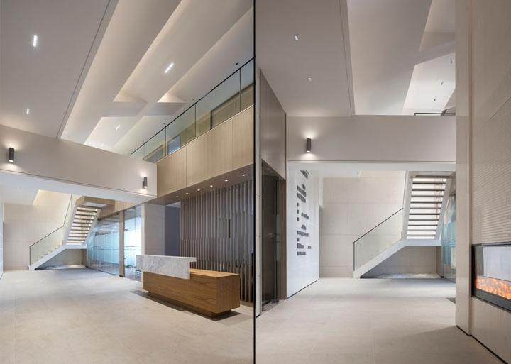 Shenzhen ZhongJing aménagement bureaux