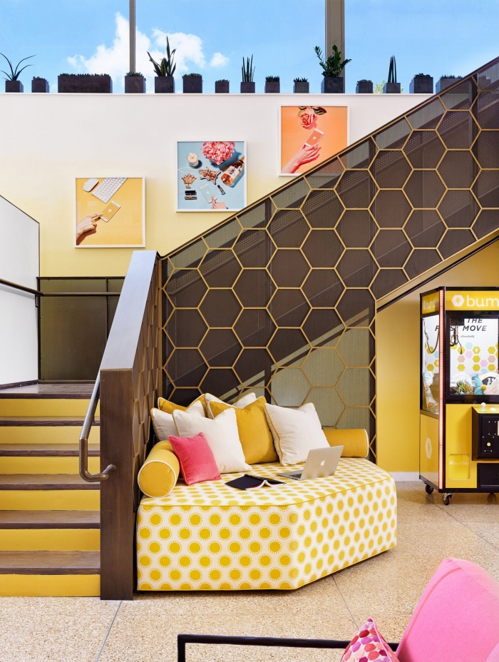 bumble austin escalier siège social