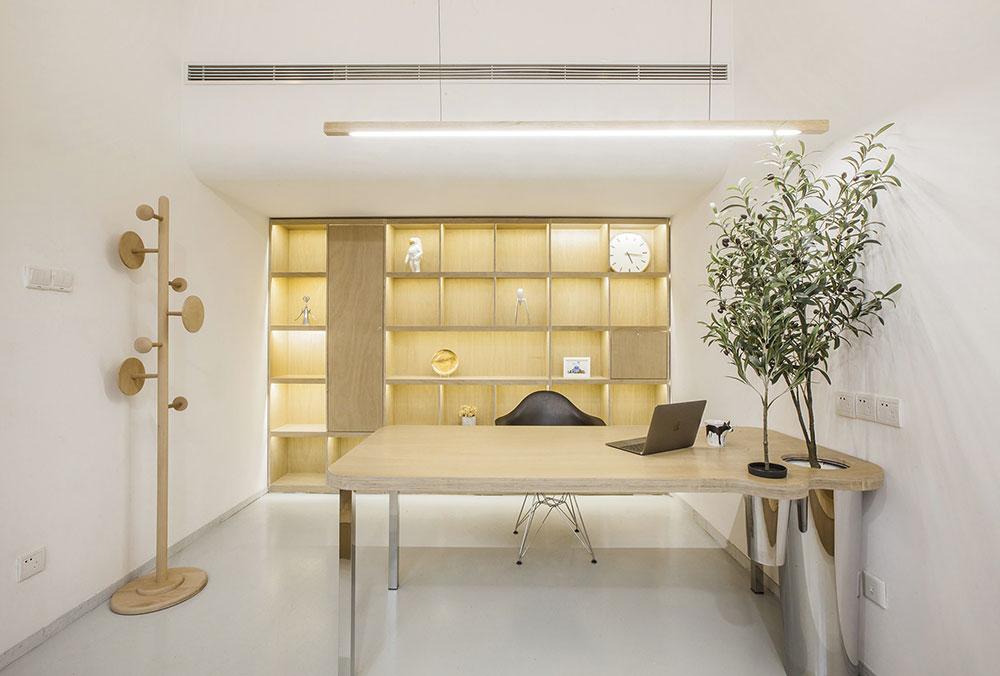 bureaux minimalistes végétalisés towodesign