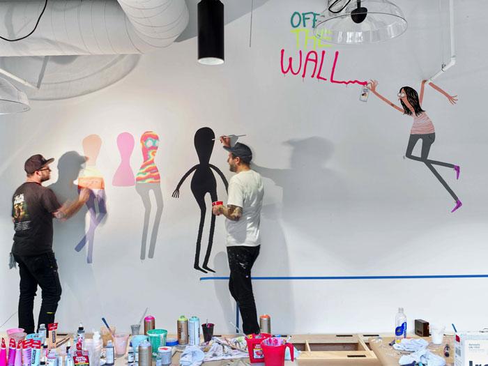 atelier créatif locaux vans californie