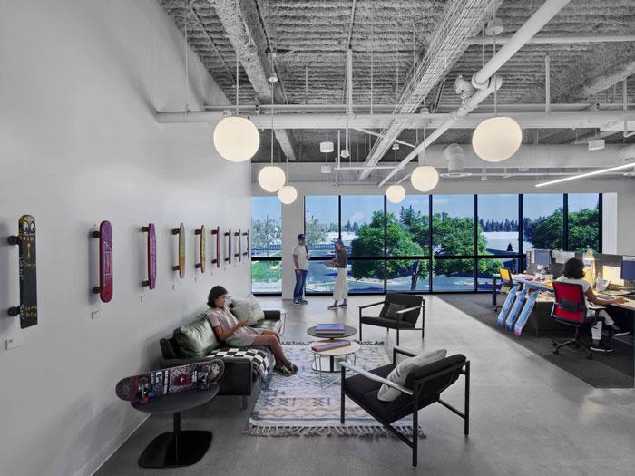 bureaux vans espace lounge