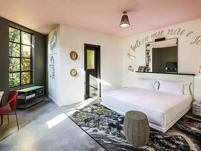 mama shelter rio chambre hotel