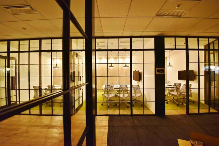 cloisons vitrées bureaux indeed tokyo