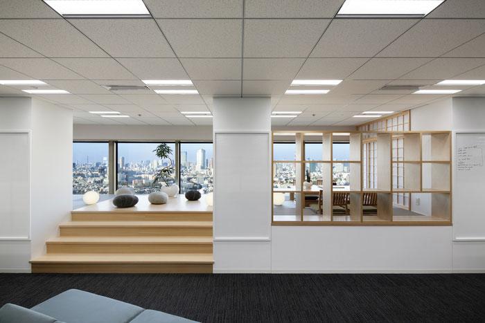 espace détente bureaux indeed tokyo
