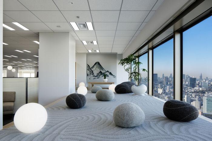 indeed bureaux espace zen tokyo