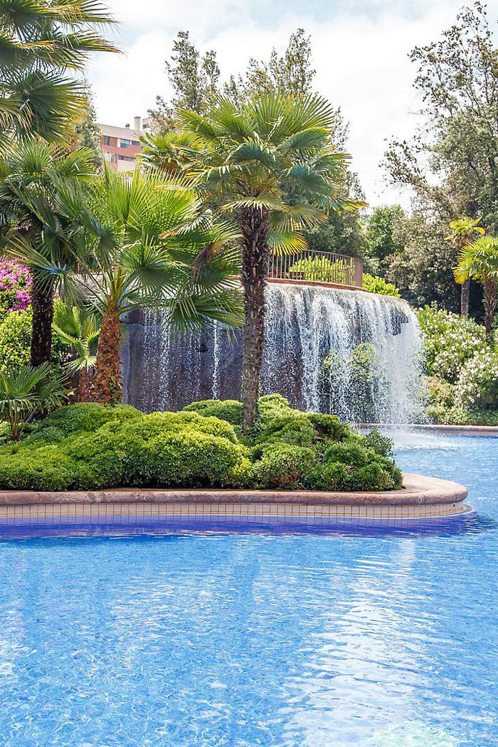 piscine mandarin oriental santiago