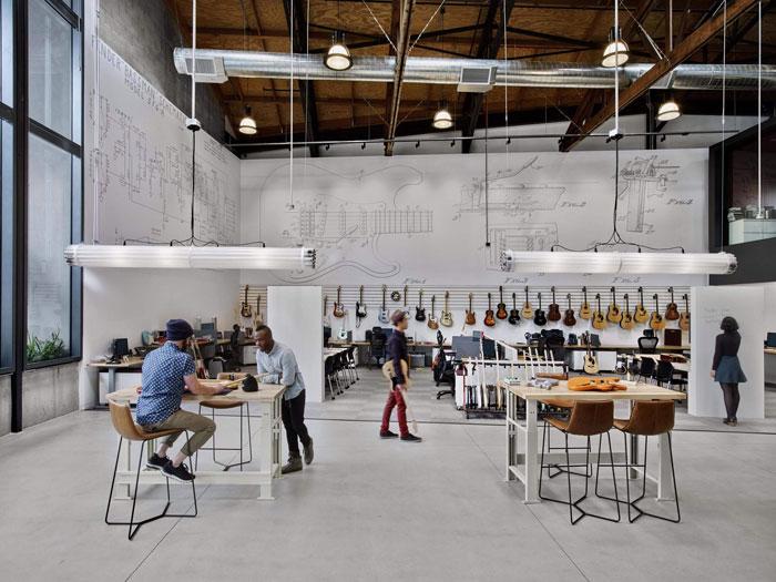 espace collaboratif entreprise fender