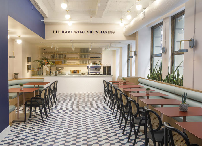the wing coworking san francisco cafeteria
